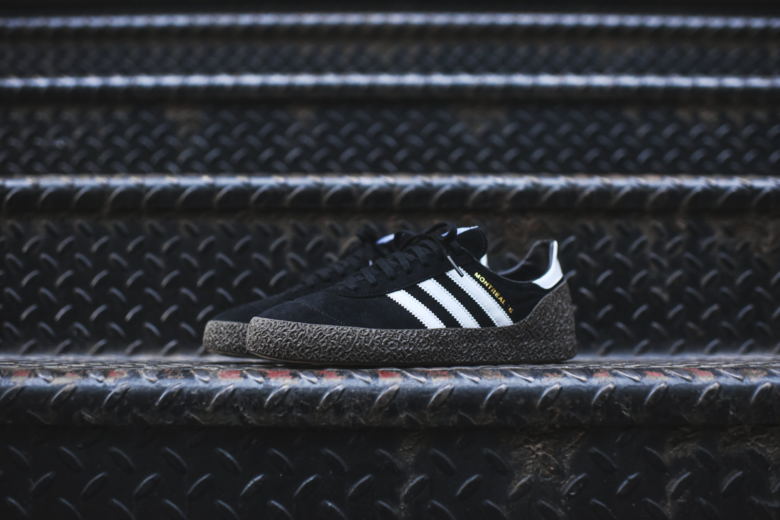 adidas Originals Montreal 76 - Black / Brown