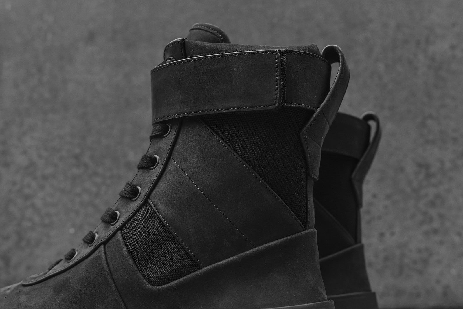 Fear Of God WMNS Military Sneaker High - Black