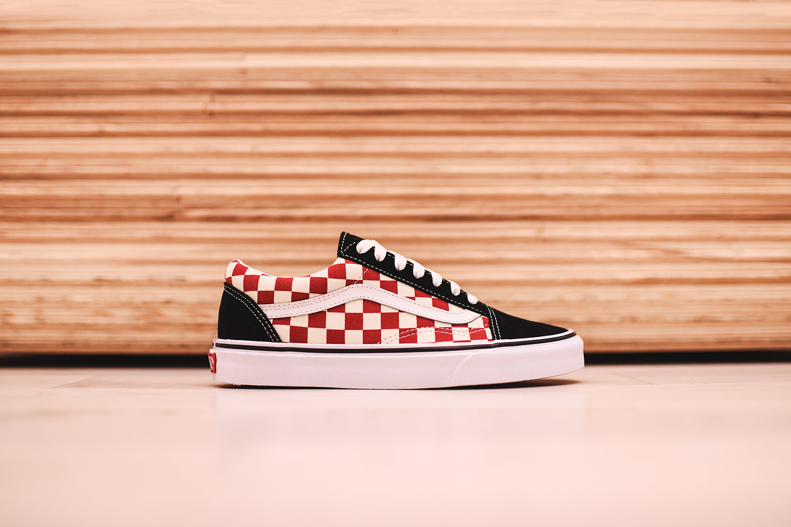 Vans Old Skool - Black / Red