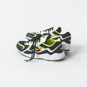 big sale e345a 679e5 Nike Air Zoom Alpha - Black   Volt   Habanero Red   White