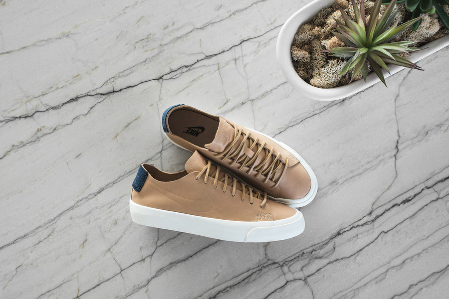 Nike Blazer Studio Low AS QS - Vachetta Tan / Sail