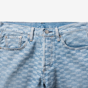 84b2508f Kith Kids x Levis Salt Bleached AOP 501 - Light Blue