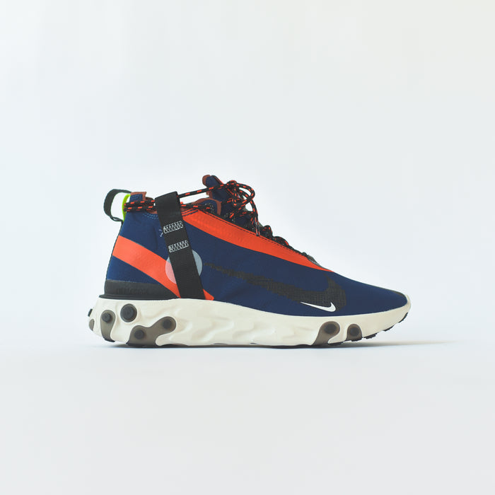 Nike React Runner Mid WR ISPA - Blue / Black / Orange