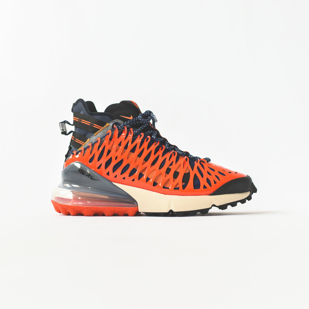 9475b9d9203 Nike Air Max 270 ISPA - Blue Void / Black / Terra Orange / Oatmeal – Kith