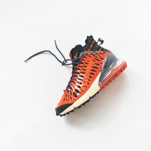 d7a57e5ef72 Nike Air Max 270 ISPA - Blue Void / Black / Terra Orange / Oatmeal ...
