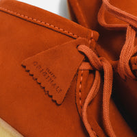 Clarks Wallabee Boot - Burnt Orange Suede Thumbnail 1