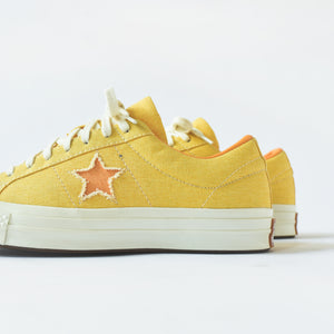 Converse One Star Sunbaked Ox - Butter Yellow / Meon Baller