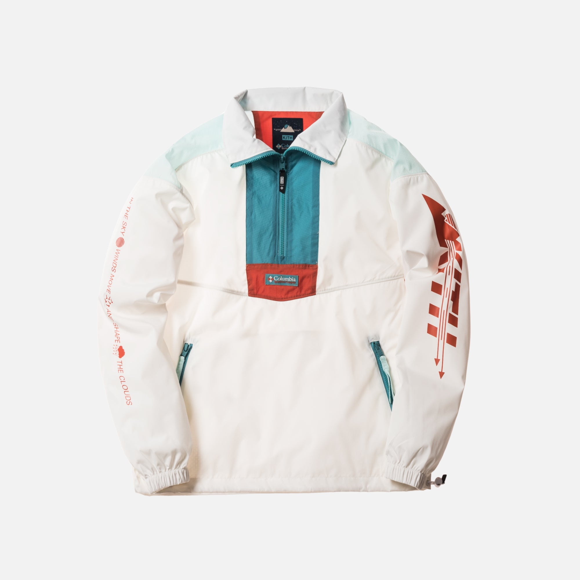 Kith x Columbia Santa Anna Windbreaker - Element