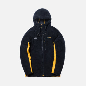 Kith x Columbia High Pile Full-Zip Jacket - Abyss