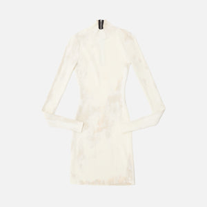 Cotton Citizen Ibiza Mini Dress - Buttercream Splatter Image 1