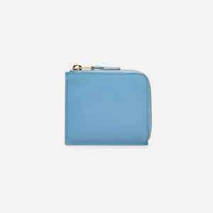 CDG Pocket Ruby Eyes Half Zip Wallet - Blue