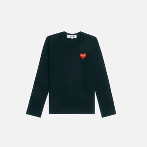 CDG Pocket WMNS L/S Tee - Black