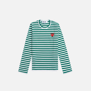 CDG Pocket WMNS L/S Tee - Green