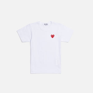 CDG Pocket Women`s Play Tee - White