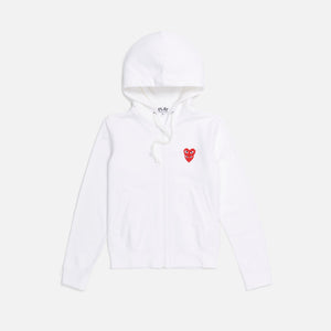 CDG Pocket Ladies Sweatshirt - White