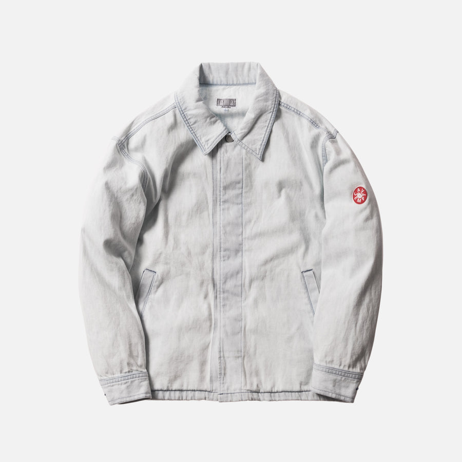 Cav Empt Noise Denim Jacket - Bleach White