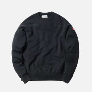 Cav Empt World`s Processes Crewneck - Black