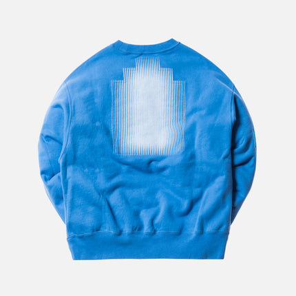 Cav Empt Card 17 Crewneck - Blue