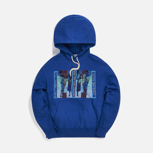 Cav Empt Not Nature Heavy Hoodie - Blue Image 1