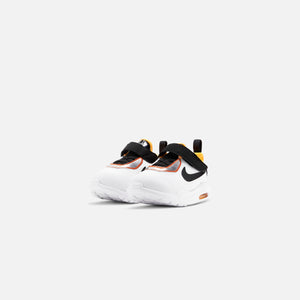 Nike Toddler Air Max Oketo D2N - White / Chrome Black / Laser Orange