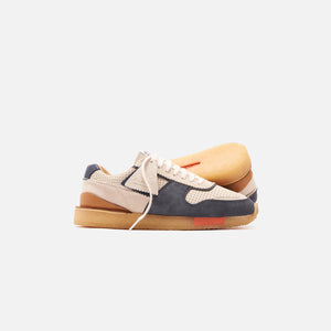 Clarks Tor Run - White / Blue
