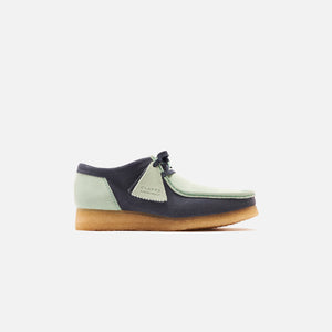 Clarks Wallabee 2CLR - Blue / Green