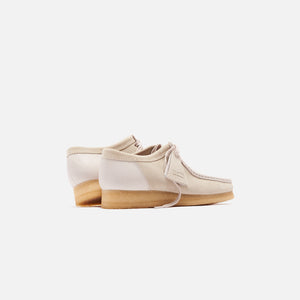 Clarks Wallabee 2CLR - White Combo