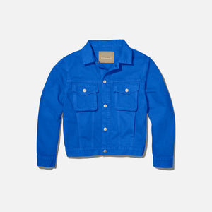Calvin Klein x Heron Preston Women`s Canvas Trucker Jacket - Klein Blue