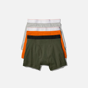 Calvin Klein x Heron Preston Boxer Brief (3 Pack) - Orange / Olive / Heather