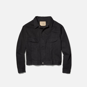Calvin Klein x Heron Preston Men`s Canvas Trucker Jacket - Black