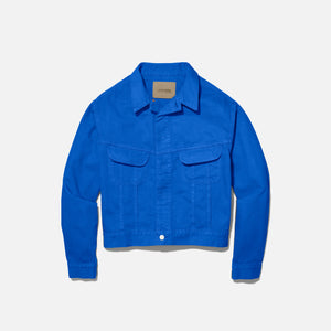 Calvin Klein x Heron Preston Men`s Canvas Trucker Jacket - Blue
