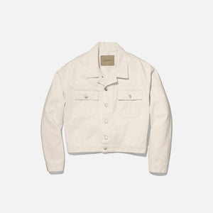 Calvin Klein x Heron Preston Unisex Canvas Trucker - Natural