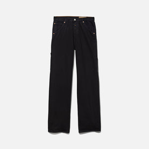 Calvin Klein x Heron Preston Men`s Canvas Carpenter Jean - Black