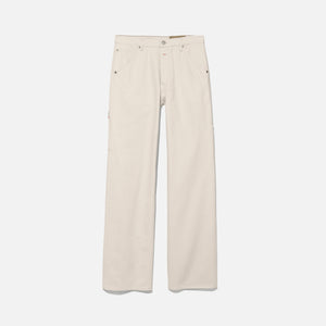 Calvin Klein x Heron Preston Men`s Canvas Carpenter Jean - Natural