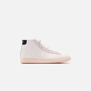 Clae Bradley Leather Mid Sneaker - California White  / Black