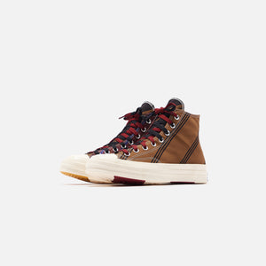Converse Chuck 70 High - Tan / Burgundy / Black Image 3