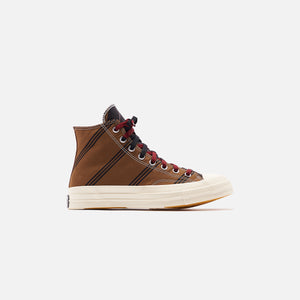 Converse Chuck 70 High - Tan / Burgundy / Black Image 1