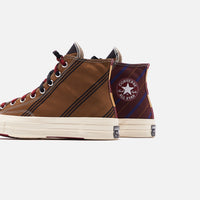 Converse Chuck 70 High - Tan / Burgundy / Black Thumbnail 5