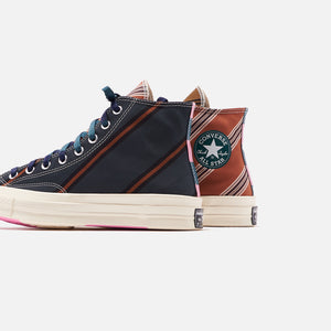 Converse Chuck 70 High - Green / Orange / White Image 5