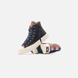 Converse Chuck 70 High - Green / Orange / White Image 2