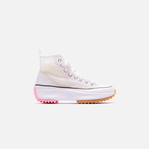 Converse WMNS Run Star Hike Mesh Hi - White / Black / Electric Blush