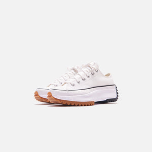 Converse Run Star Hike Ox - White / Black / Gum Image 4