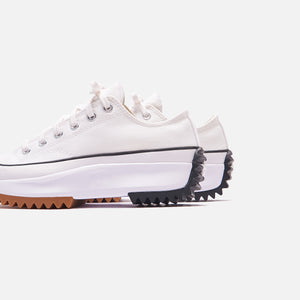 Converse Run Star Hike Ox - White / Black / Gum Image 7