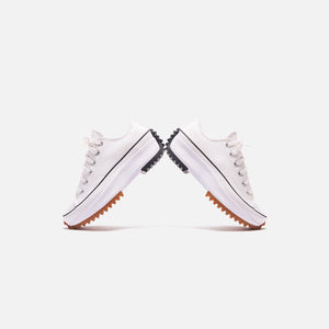 Converse Run Star Hike Ox - White / Black / Gum Image 3