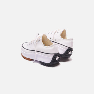 Converse Run Star Hike Ox - White / Black / Gum Image 5