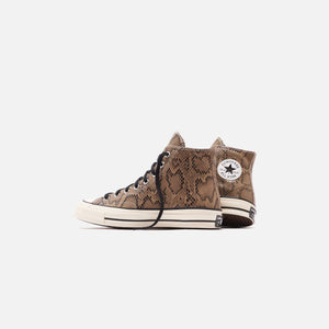 Converse Chuck 70 Archive Reptile Suede High - Brown / Egret / Black