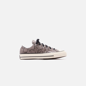 Converse Chuck 70 Archive Reptile Suede Ox - Grey / Egret / Black