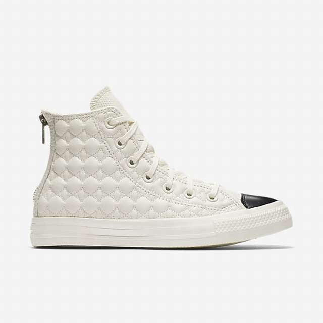 Converse CTAS Back Zip Egret - White / Black