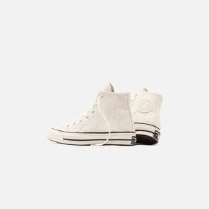 Converse Chuck 70 High - Egret / Black / White