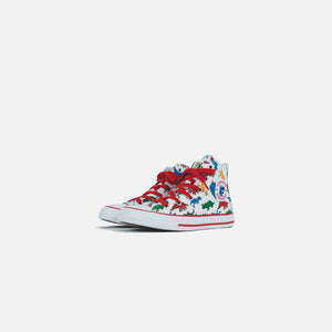 Converse Pre-School Chuck Taylor All Star Hi - White / Enamel Red / Totally Blue